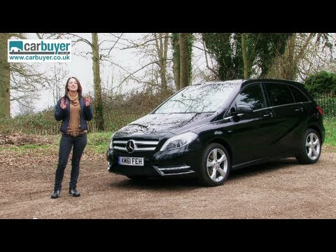 Mercedes-Benz B-Class MPV review - Carbuyer - YouTube