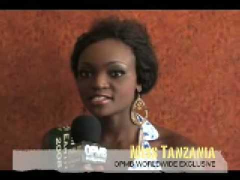 Tanzanian girl speaking