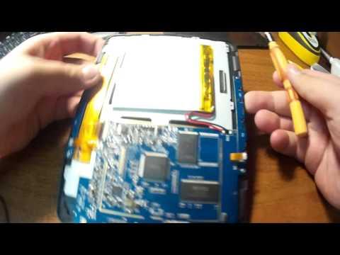 Как разобрать электронную книгу Texet TB-137
