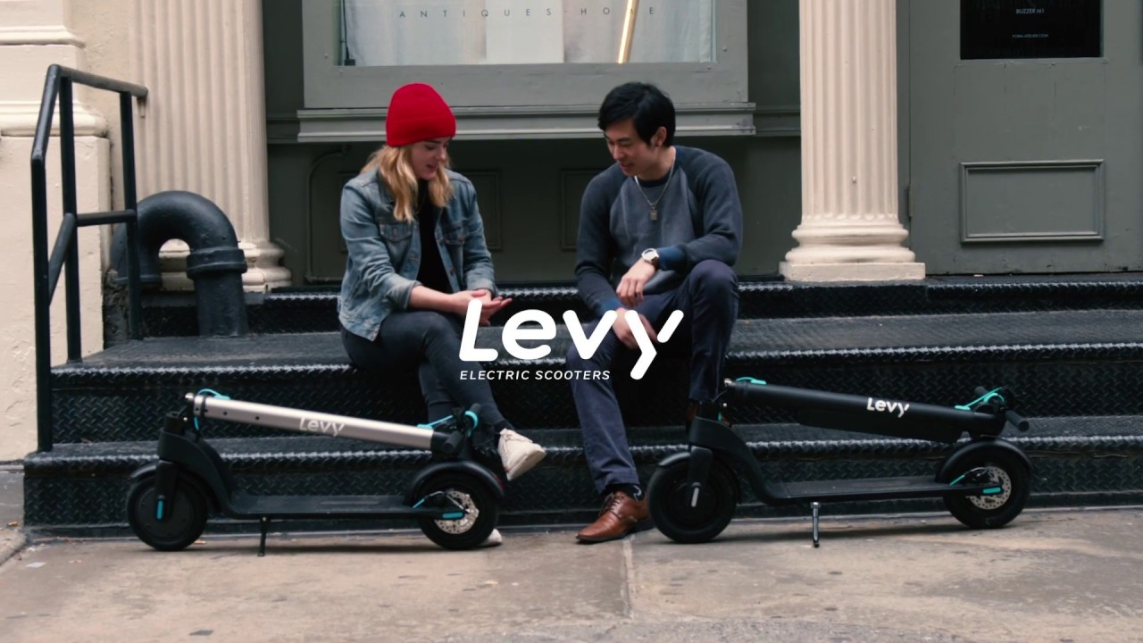 The Levy Electric Scooter