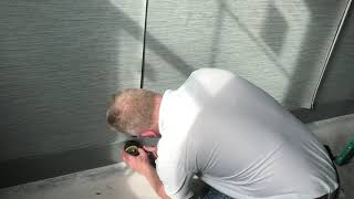 How To Cut A Wallpaper Seam Quickly With A laser Level - Spencer Colgan