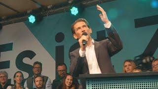 Sebastian Kurz on track to become Austria's next chancellor