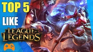 Top 5 games like League Of Legends | Best MOBA Games