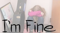 I'm Fine - A student short film about bullying