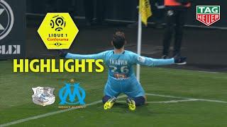 Amiens SC - Olympique de Marseille ( 1-3 ) - Highlights - (ASC - OM) / 2018-19