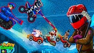 БЕЗУМНЫЕ ЗАДАНИЯ Новая Серия мульт игры про машинки тачки гонки Drive Ahead Sports