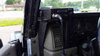Product Review: Rugged Ridge CB Radio Mount