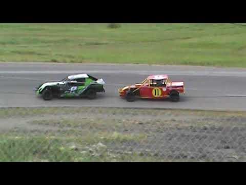 Kings Park Speedway Pro-4 Heat #1 Race Day #5