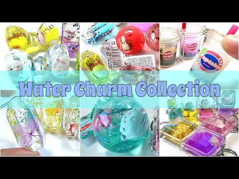 Compilation Water Charm Keychain Collection