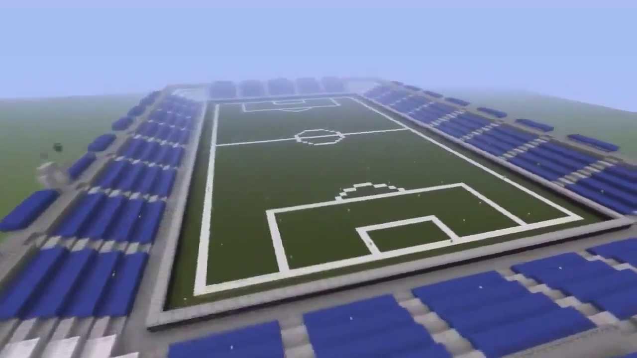 minecraft football field tutorial