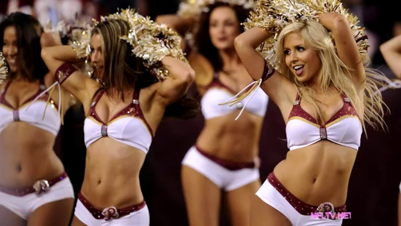 Redskins Cheerleader Bodypaint Pinterest Washington-pic9630