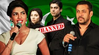 Priyanka Chopra SUPPORTS Salman Khan - Pakistan Artists Controversy
