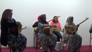 Yenipazarlı Bayanlar Saz Kursu Eğitimi