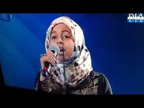 10yr old Rafia Beautiful recitation