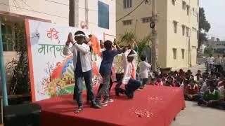 Republic day celebrations at NRI INDIAN SPRINGS SCHOOL TIRUPATI