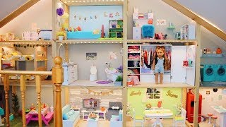 *HUGE* AG DOLLHOUSE TOUR! | AMERICAN GIRL DOLL HOUSE TOUR NEW 2019