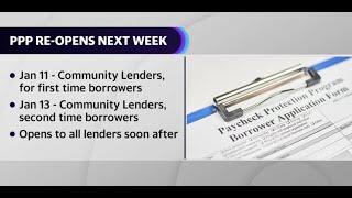Next round of PPP opens for community lenders on Monday, rollout expected to be smoother