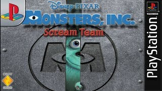 Longplay of Monsters, Inc. Scream Team/Monsters, Inc. Scare Island