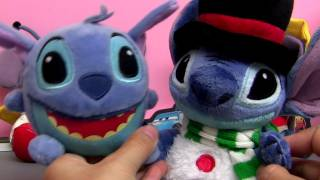 Disney Christmas vibrating talking toy plush from Lilo and Stitch