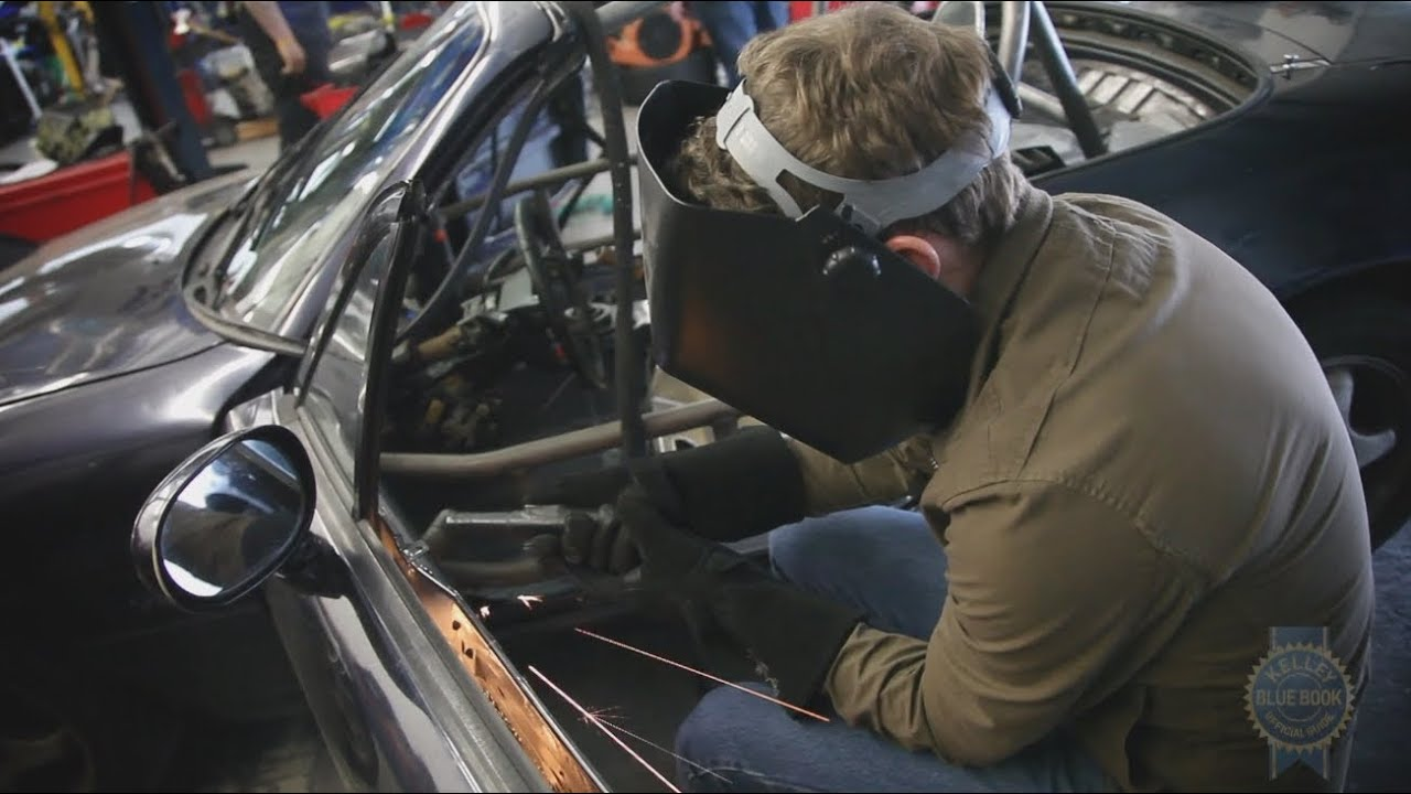 KBB Races a Mazda Miata - Part 3: The Build - YouTube