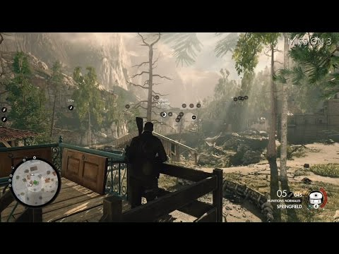 Sniper Elite 4 - Tenir ses distances 25G/Bronze