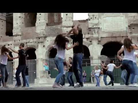 """West Coast Swing Flash Mob @ Rome Italy - """"Official Video"""""""