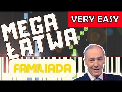 🎹 Familiada (Czołówka, motyw główny) - Piano Tutorial (MEGA ŁATWA wersja) 🎹