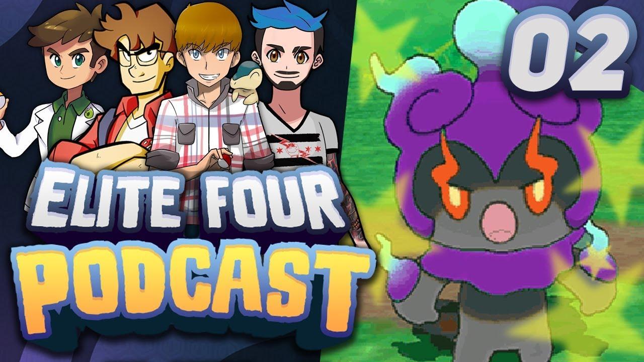 HACKING POKÉMON AND DRAMA   Elite Four Podcast - Episode 02 w/ Truegreen7