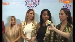 FIFTH HARMONY - KCA MEXICO ORANGE CARPET INTERVIEW