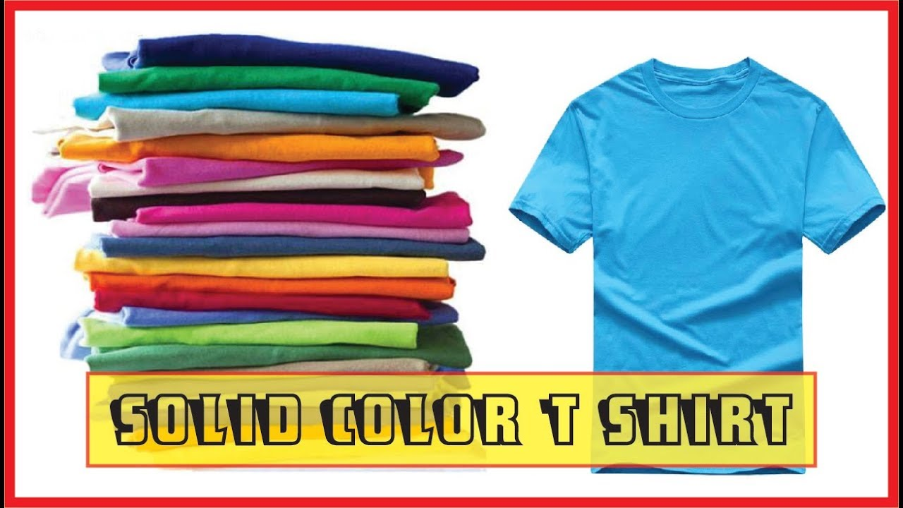 New Solid Color T Shirt Mens Black And White 100 Cotton Mens T