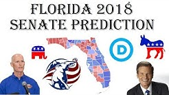 2018 Senate Predictions - Who Will Win Florida Senate Election? - Bill Nelson vs. Rick Scott