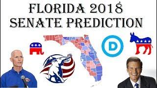 2018 Senate Predictions - Who Will Win Florida Senate Election? - Bill Nelson vs. Rick Scott