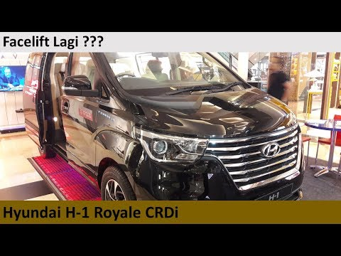 Hyundai H-1 Royale CRDi Facelift 2018 Review - Indonesia