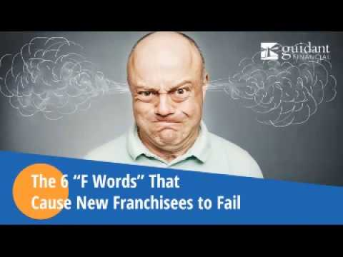 "Webinar: The 6 ""F"" Words That Cause New Franchisees to Fail"