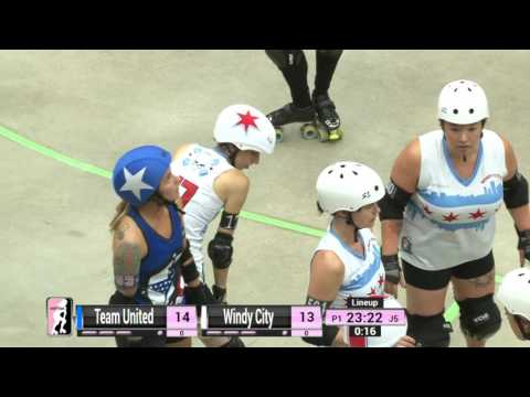 Game 11: Windy City Rollers v Team United Women's Roller Derby