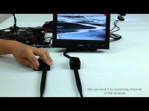 DJI 5.8GHz Video Link Setup Demo