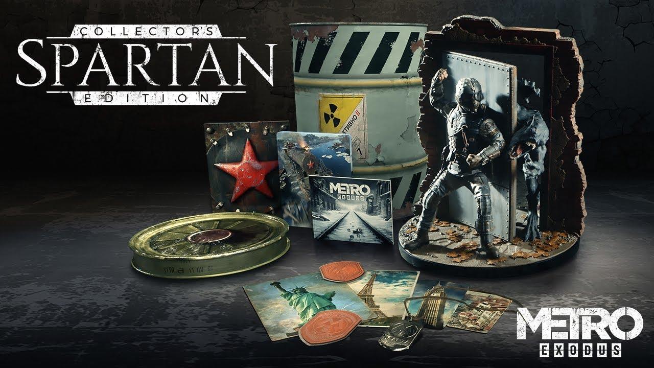 Metro Exodus - Спартанское коллекционное издание.