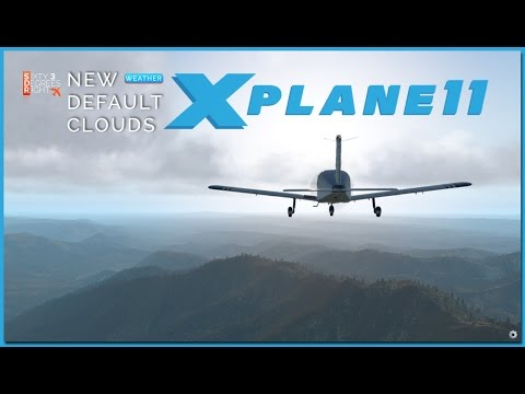 [X-Plane11] NEW default CLOUDS in X-Plane 11 - YouTube