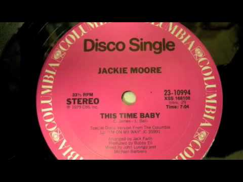 Jackie Moore This time baby 1979disco