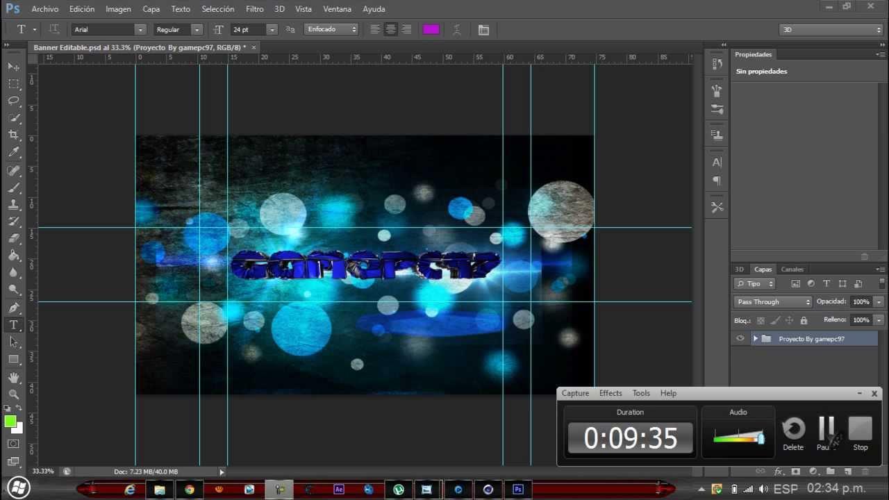 Banner (PSD Editable) ~ R G - Recursos Para Photoshop