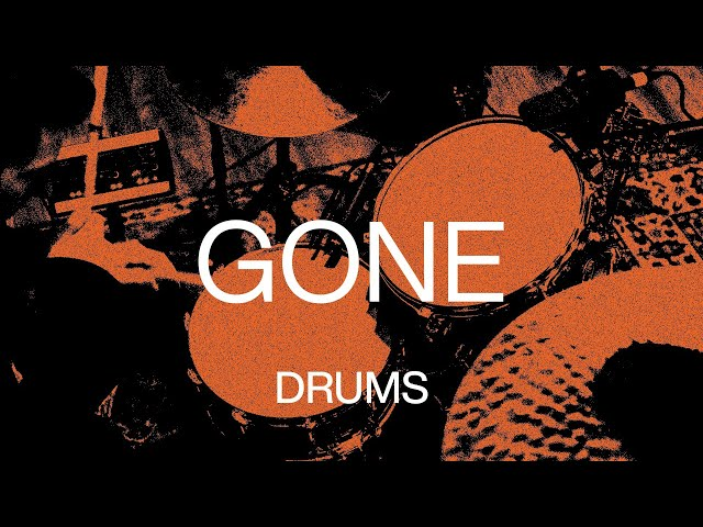 Gone | Official Drums Tutorial | At Midnight | Elevation Worship