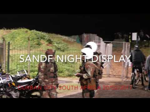 War Games over Durban Beach Front
