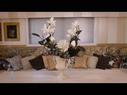 Arranging Magnolia into a Classic Urn Floristry Tutorial thumbnail