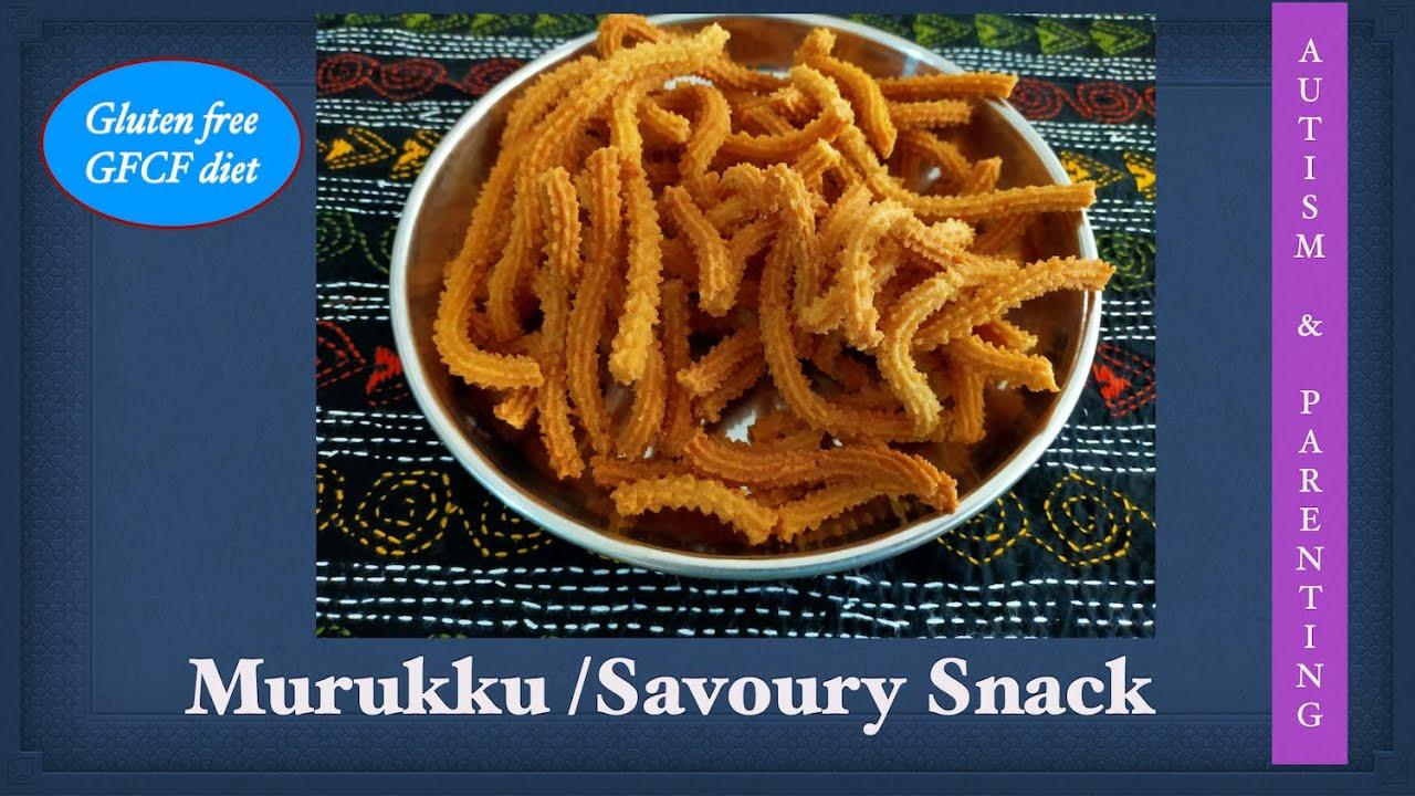 Murukku / Savoury snack / Sensory Smart Snack /Gluten free recipe