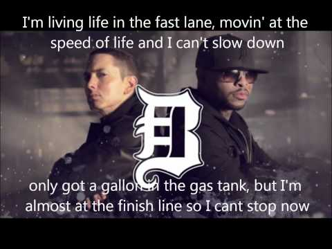 Eminem - Bad Meets Evil - Fast Lane lyrics (Dirty/Explicit)