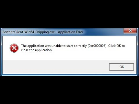 Solucion Real Error Fortnite Client Win64 Shippingexe Error De