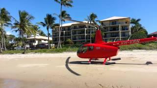 Rose Bay Resort Helitaxi