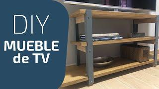 Como hacer un mueble para tv - PASO A PASO 2018