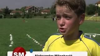 Sportski magazin Mlade sportske nade Aleksandar Milenkovic emisija 81