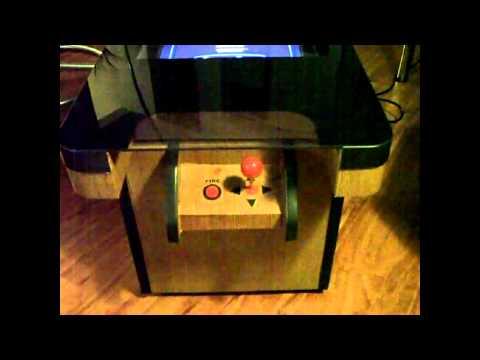 pac-man coffee table - youtube